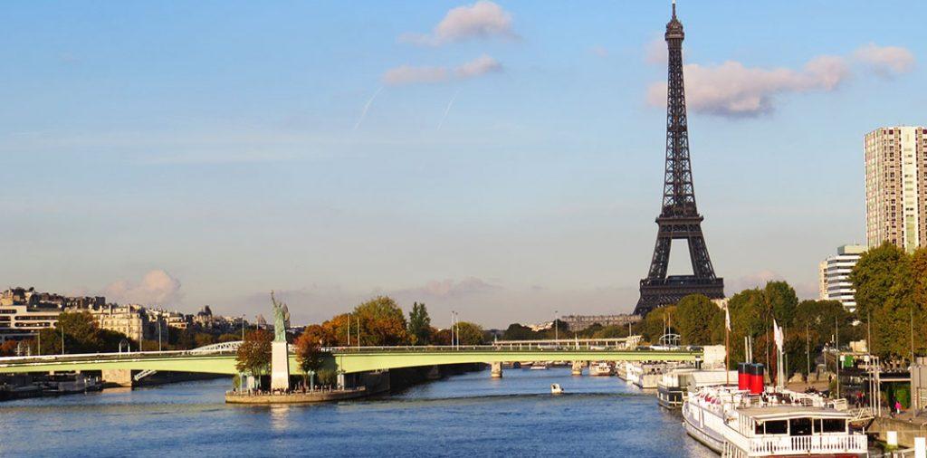 Paris Eiffelturm Freiheitsstatur