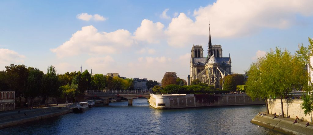 Paris Notre Dame Seine