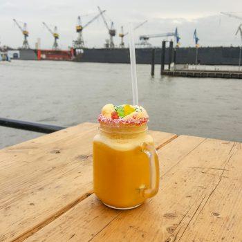Milchshake beim Eis Cream Festival in Hamburg