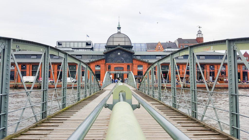 Veranstaltungsort des Eis Cream Festivals Hamburg die Fischauktionshalle