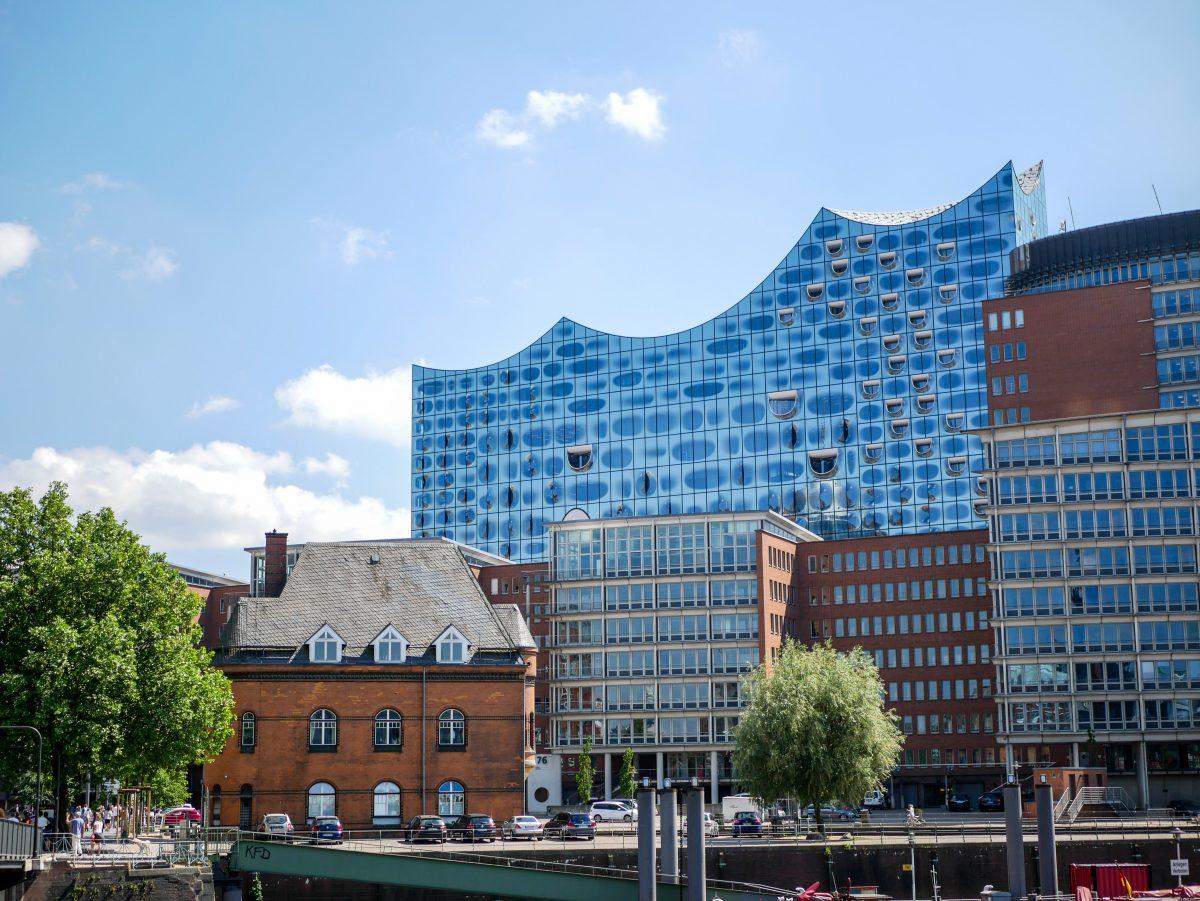 Elbphilharmonie in der Speicherstadt