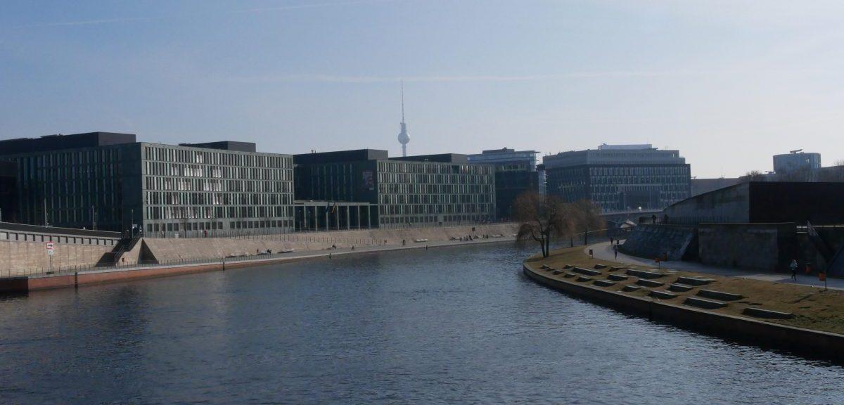 Spreeufer in Berlin