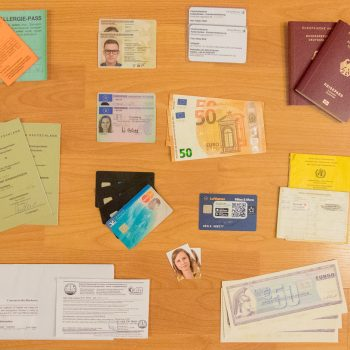 Alle wichtigen Dokumente für eine Weltreise