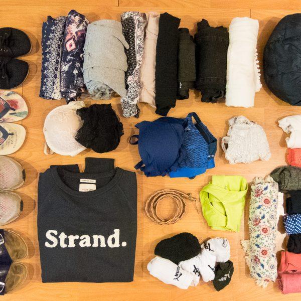 Weltreise Packliste Klamotten Frauen