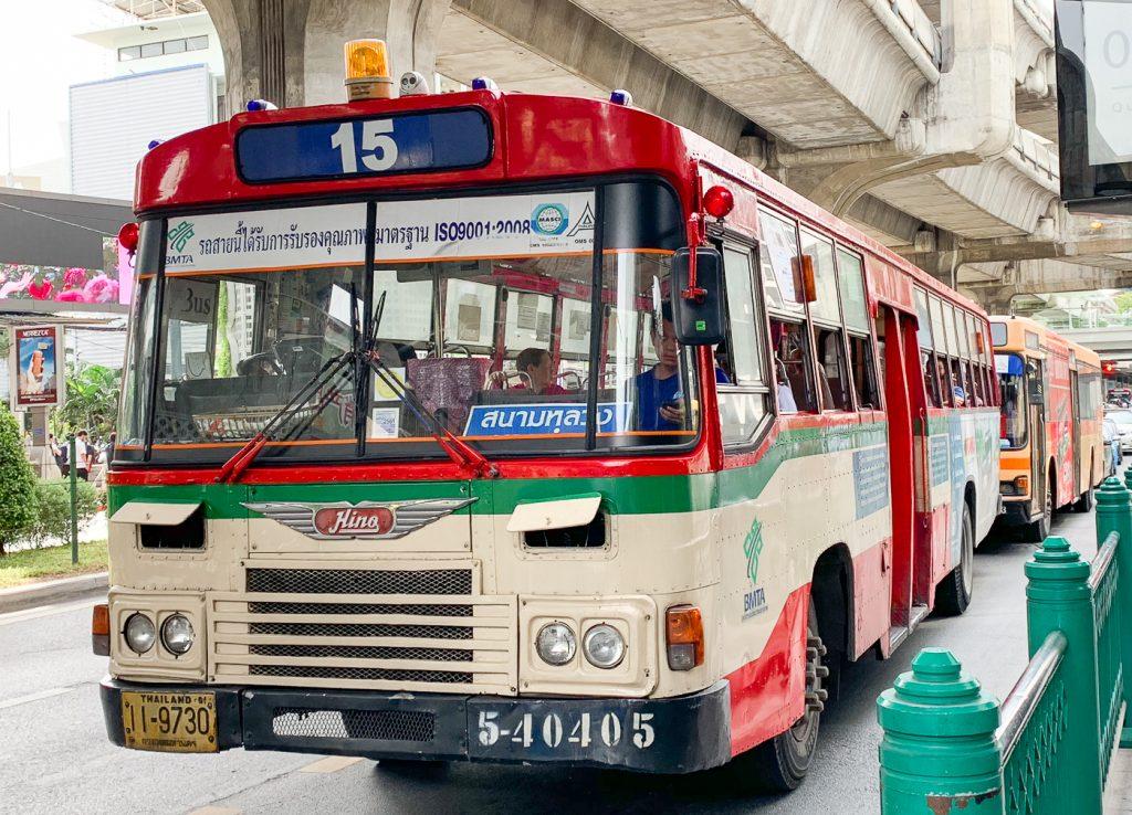 Bus - Route 15 in Bangkok