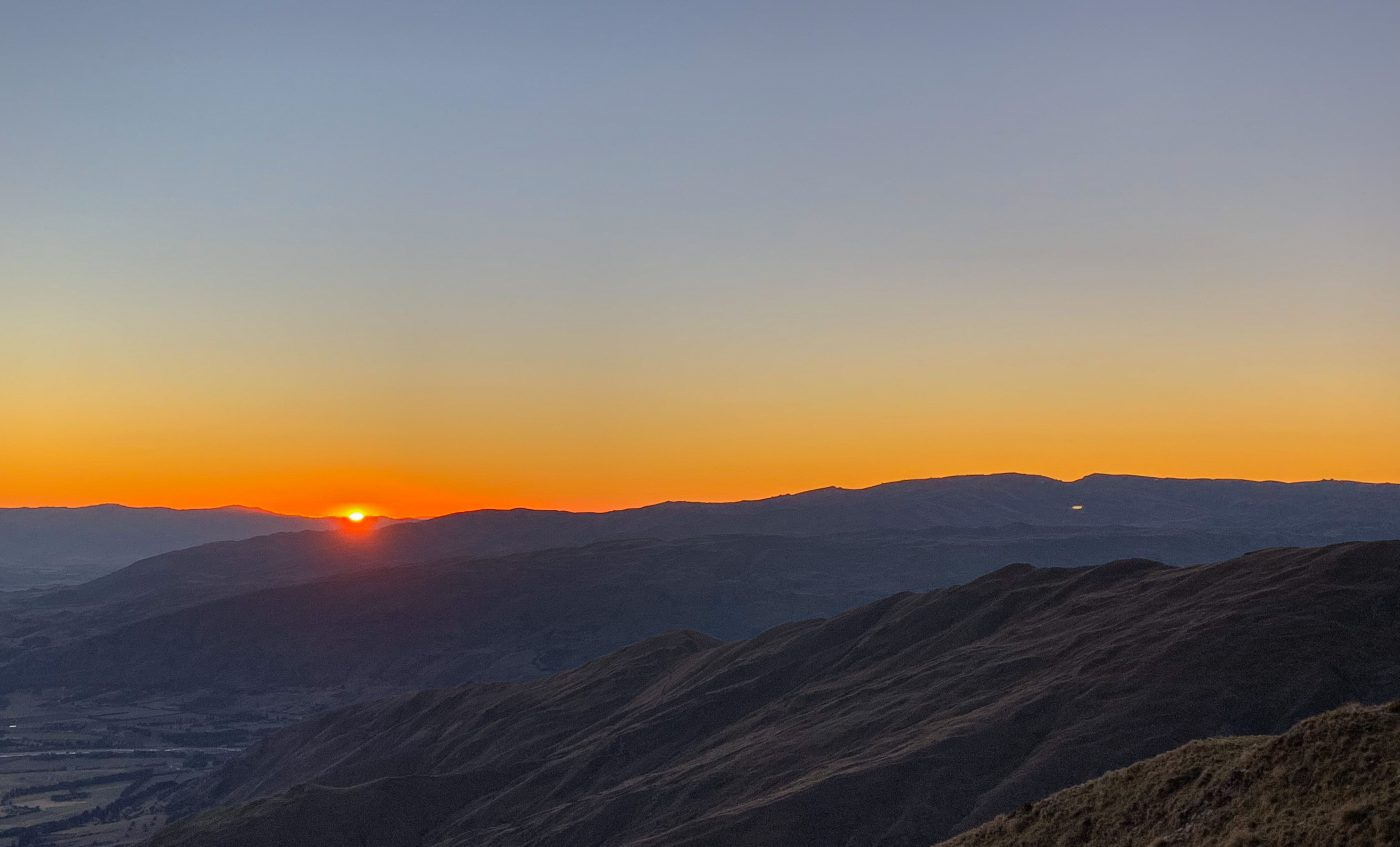 Sonnenaufgang Roys Peak Wanaka