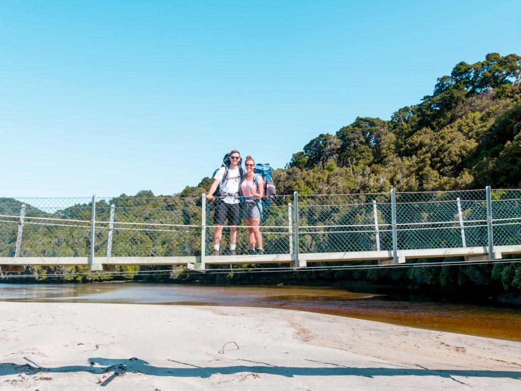 Stewart Island Walk Hängebrücke