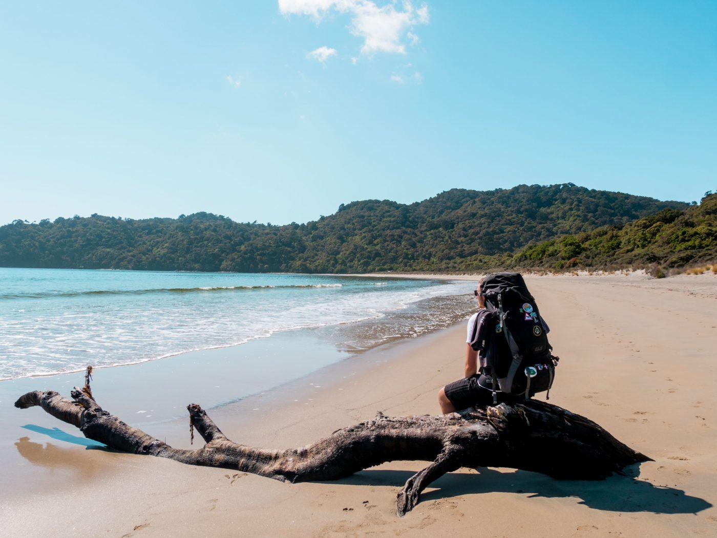 Stewart Island Walk Maori Beach