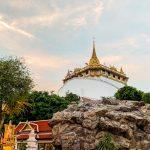 Tempel des Goldenen Berges Wat Saket