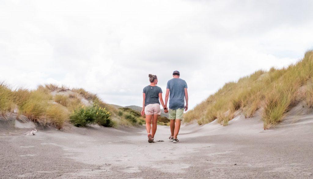Farewell Spit in der Golden Bay auf der Südinsel Neuseelands