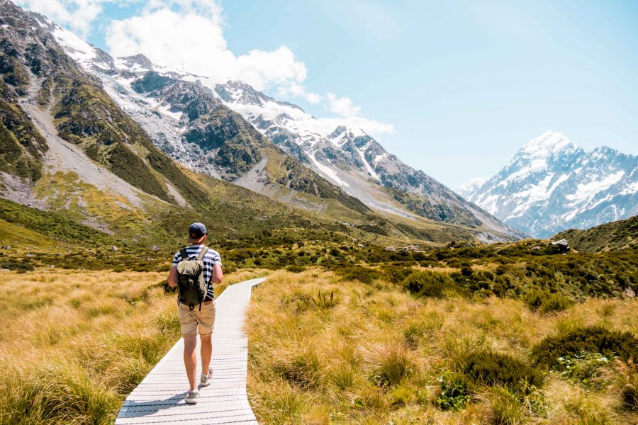 Hooke Valley Track Neuseeland Südinsel