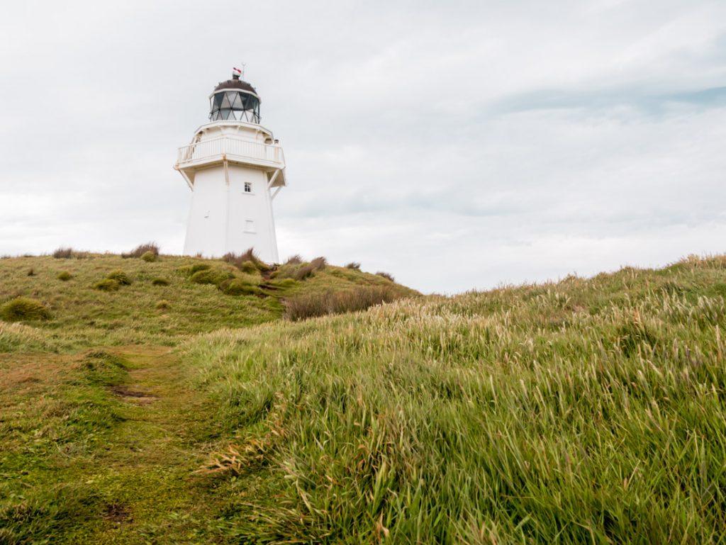 Waipapa Point Leuchtturm