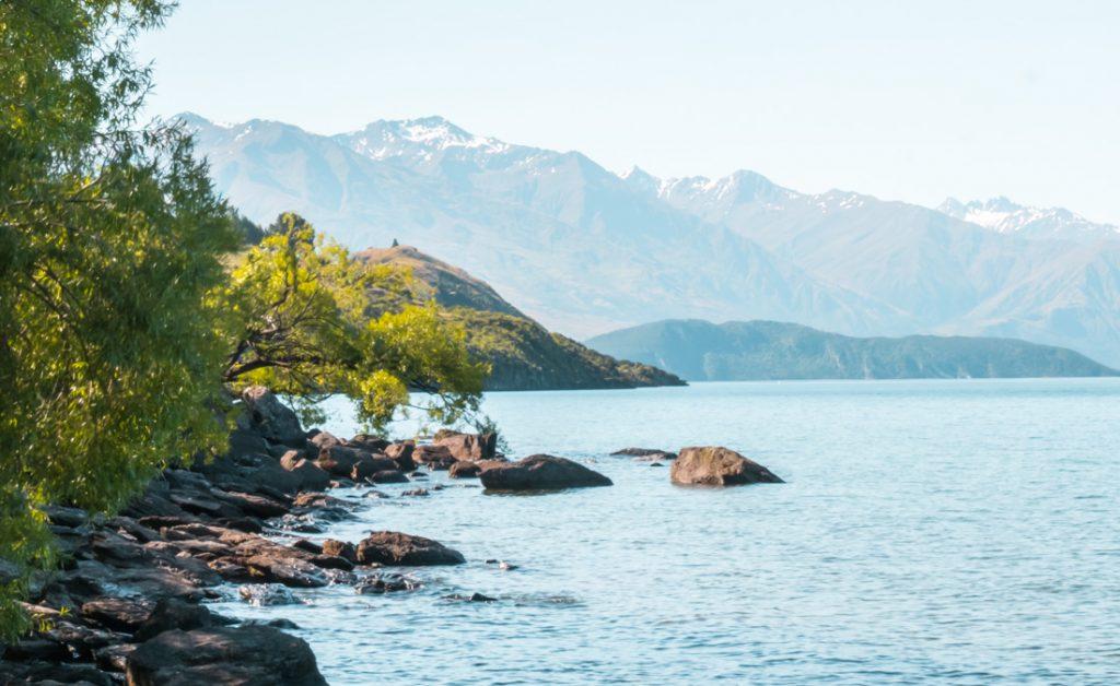 Lake Wanaka baden