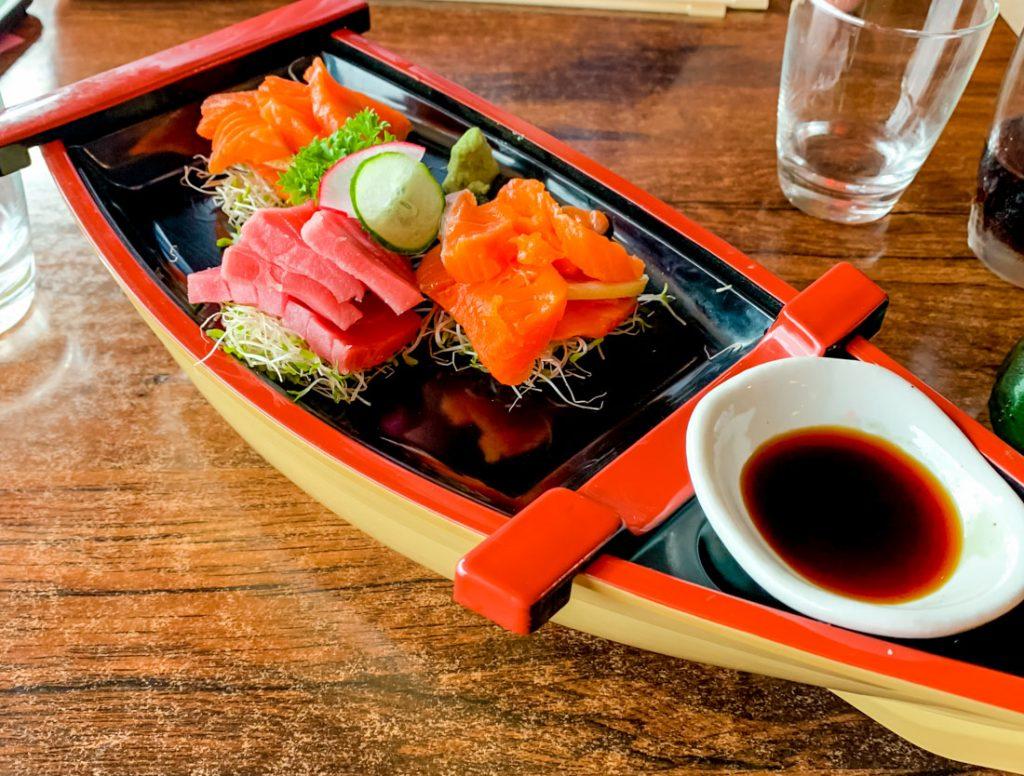 Japanisch essen in Wanaka bei Sasanoki