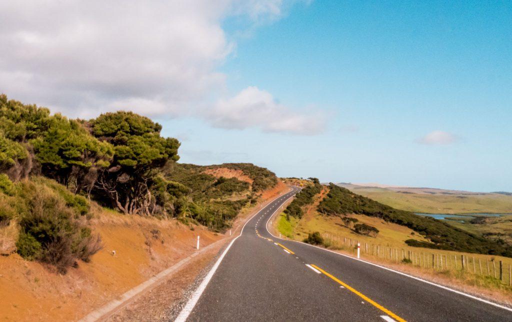 Wunderschöner Weg zu Cape Reinga