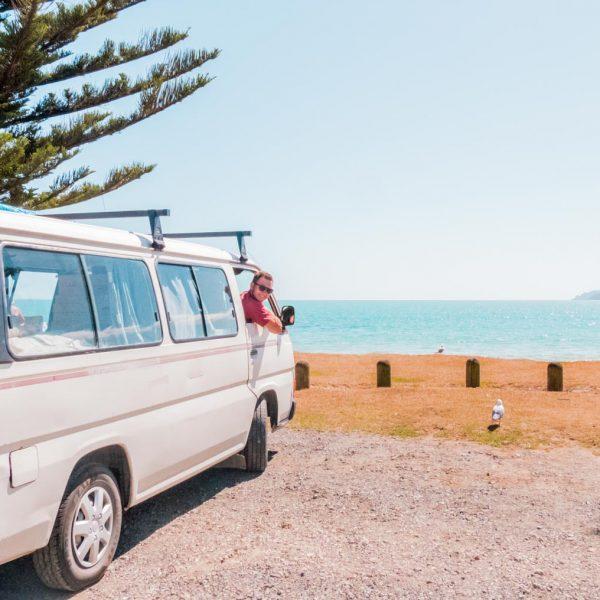 Campervan in Neuseeland