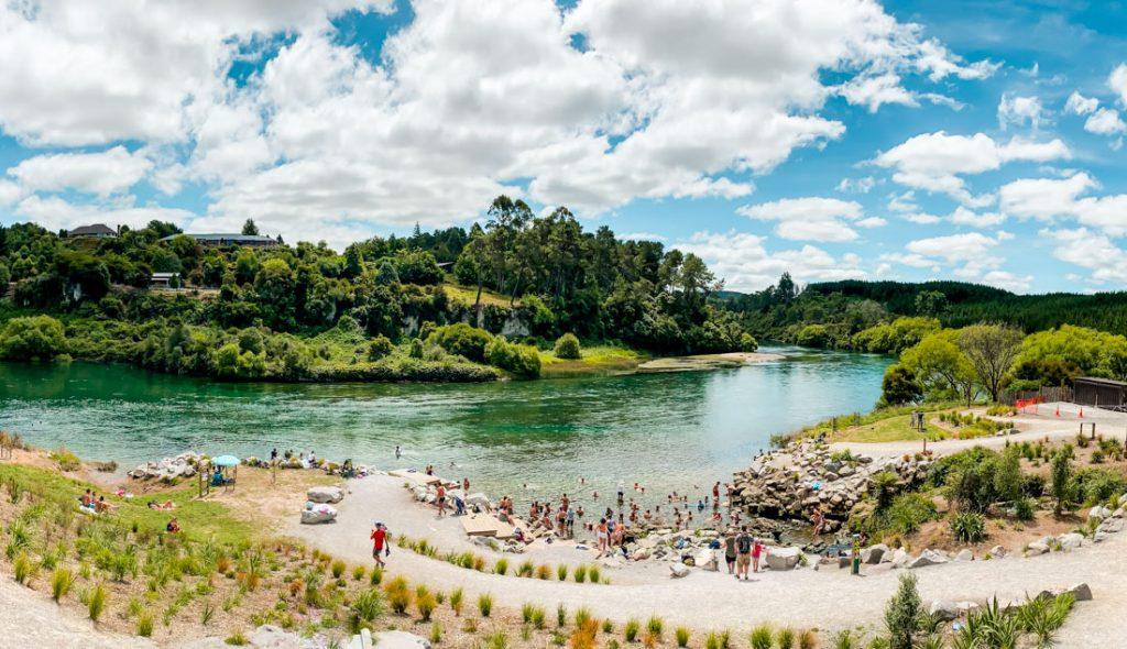 Thermalquelle in Taupo