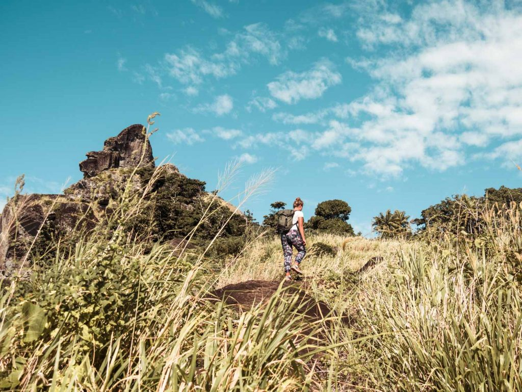 Wanderung auf den Fidschi Inseln