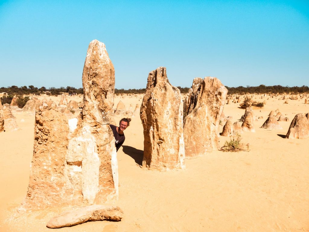 Pinnacles im Nambug Nationalpark in Australien
