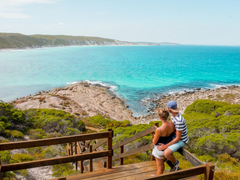 Great Ocean Drive in Esperance in West Australien