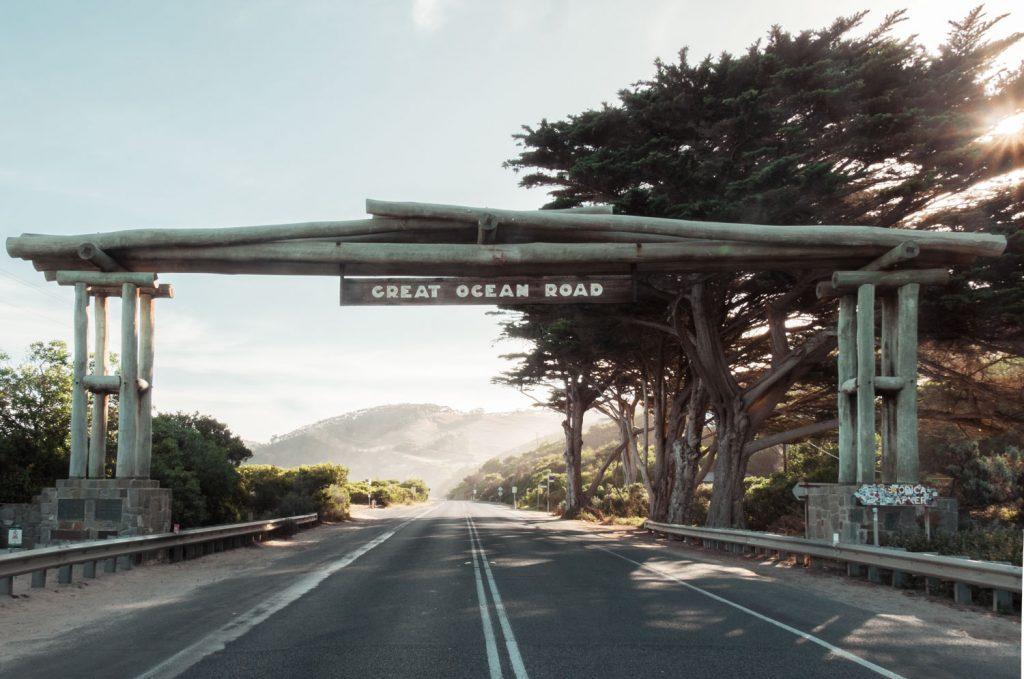 Memorial Arch Great Ocean Road