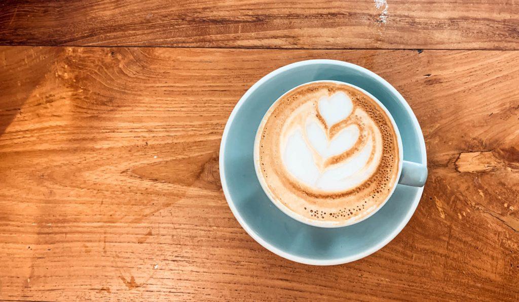 Kaffee in der Degraves Lane in Melbourne
