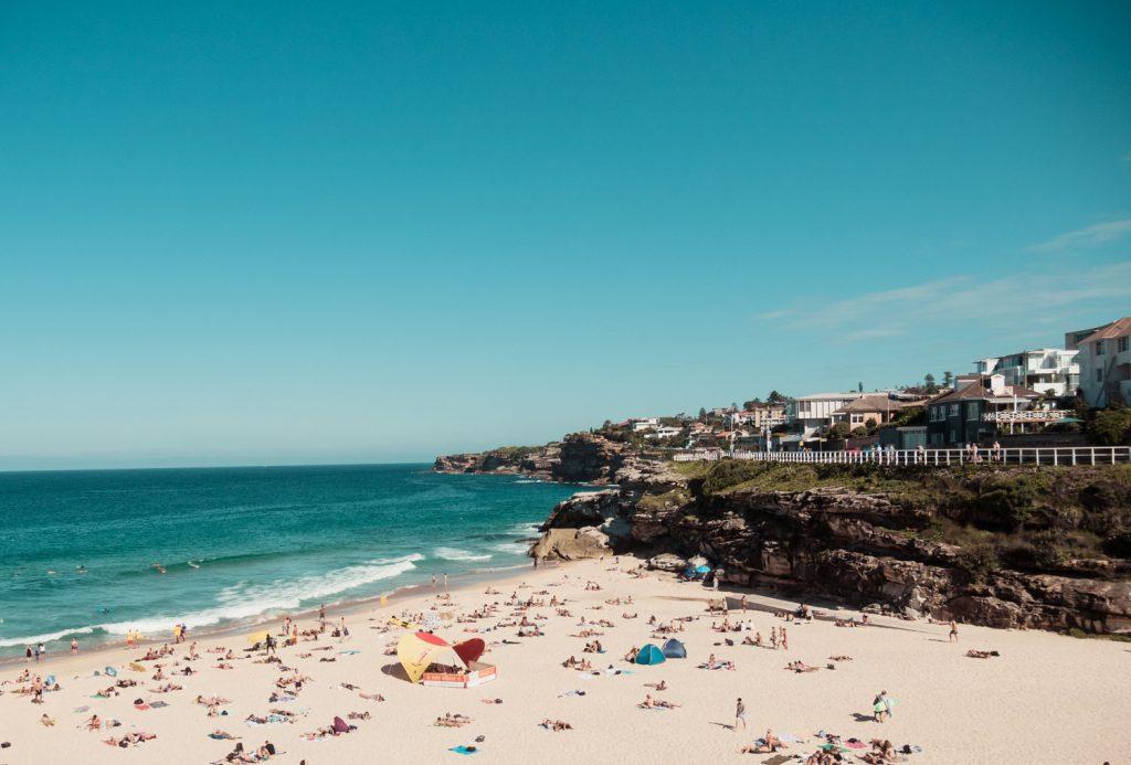 Küstenwanderweg in Sydney von Bondi nach Coogee