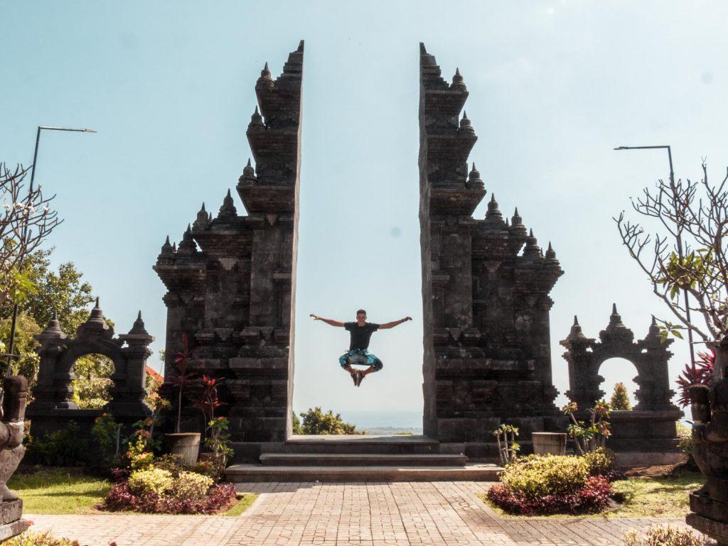 Himmelstor in Lovina auf Bali