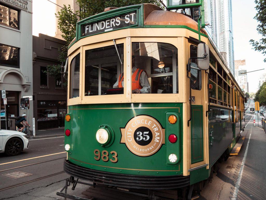 Verkehrsmittel in Melbourne free tram