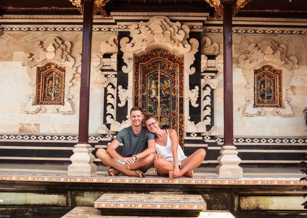 Traditionelles Haus auf Bali