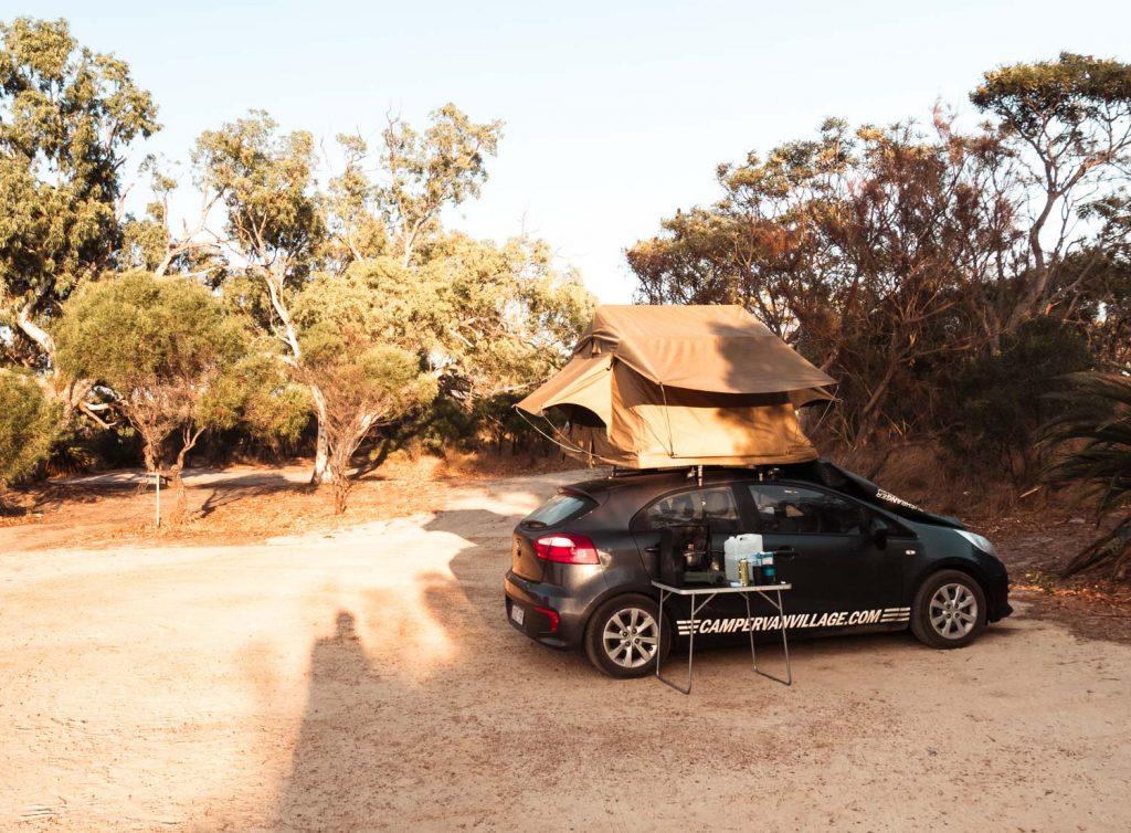 Wildcamping in Westaustralien