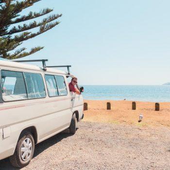 mit dem Van durch Neuseeland